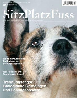 SitzPlatzFuss, Ausgabe 7 von Cadmos Verlag