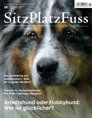 SitzPlatzFuss, Ausgabe 8 von Cadmos Verlag