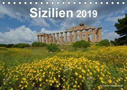 Sizilien 2019 (Tischkalender 2019 DIN A5 quer) von Dauerer,  Jörg
