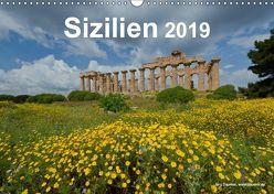 Sizilien 2019 (Wandkalender 2019 DIN A3 quer) von Dauerer,  Jörg