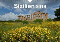 Sizilien 2019 (Wandkalender 2019 DIN A4 quer) von Dauerer,  Jörg