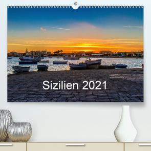 Sizilien 2021 / CH-Version (Premium, hochwertiger DIN A2 Wandkalender 2021, Kunstdruck in Hochglanz) von Lupo,  Giuseppe