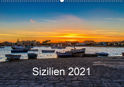 Sizilien 2021 / CH-Version (Wandkalender 2021 DIN A2 quer) von Lupo,  Giuseppe