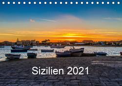 Sizilien 2021 (Tischkalender 2021 DIN A5 quer) von Lupo,  Giuseppe