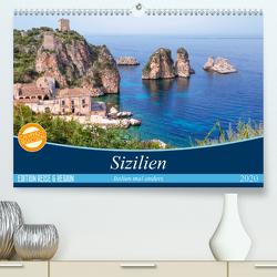 Sizilien – Italien mal anders (Premium, hochwertiger DIN A2 Wandkalender 2020, Kunstdruck in Hochglanz) von Kruse,  Joana