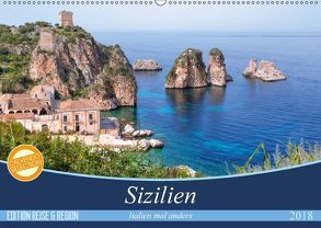 Sizilien – Italien mal anders (Wandkalender 2018 DIN A2 quer) von Kruse,  Joana
