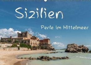 Sizilien – Perle im Mittelmeer (Wandkalender 2018 DIN A2 quer) von Kirsch,  Gunter