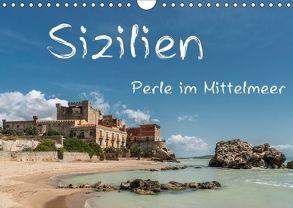 Sizilien – Perle im Mittelmeer (Wandkalender 2018 DIN A4 quer) von Kirsch,  Gunter