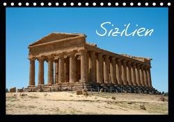 Sizilien (Tischkalender 2021 DIN A5 quer) von Scholz,  Frauke