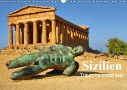 Sizilien – Traum im Mittelmeer (Wandkalender 2019 DIN A3 quer) von und Ilona Jakobs,  Hans-Josef