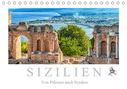 Sizilien – Von Palermo nach Syrakus (Tischkalender 2019 DIN A5 quer) von Meyer,  Dieter