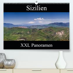 Sizilien – XXL Panoramen (Premium, hochwertiger DIN A2 Wandkalender 2021, Kunstdruck in Hochglanz) von Schonnop,  Juergen