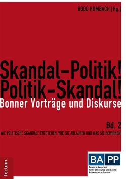 Skandal-Politik! Politik-Skandal! von Hombach,  Bodo