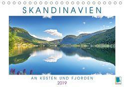 Skandinavien: An Küsten und Fjorden (Tischkalender 2019 DIN A5 quer) von CALVENDO