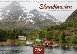 Skandinavien – Eine Rundreise durch den hohen Norden (Wandkalender 2019 DIN A4 quer) von ManGro,  k.A.