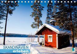 Skandinavien erleben (Tischkalender 2019 DIN A5 quer) von CALVENDO