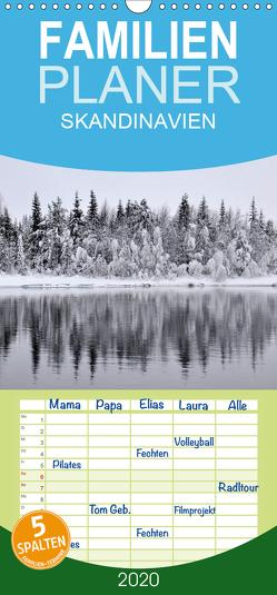 SKANDINAVIEN – Familienplaner hoch (Wandkalender 2020 , 21 cm x 45 cm, hoch) von GUGIGEI