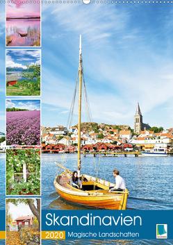 Skandinavien: Magische Landschaften (Premium, hochwertiger DIN A2 Wandkalender 2020, Kunstdruck in Hochglanz) von CALVENDO