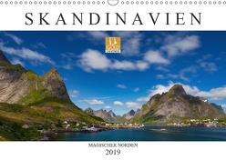 Skandinavien: Magischer Norden (Wandkalender 2019 DIN A3 quer) von Preißler www.nopreis.de,  Norman