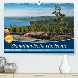 Skandinavische Horizonte (Premium, hochwertiger DIN A2 Wandkalender 2021, Kunstdruck in Hochglanz) von Jörrn,  Michael