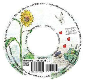 """SKARABUS-CD Musik und Text zum Bilderbuch SKARABUS oder """"Man lebt nicht nur vom Kohl allein… """" von Petitjean,  Pierre, Petitjean,  Ruth, Urfer,  Bettina"""