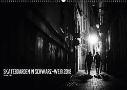 Skateboarden in Schwarz-Weiß (Wandkalender 2018 DIN A2 quer) von Wagner,  Daniel