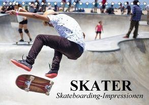 Skater. Skateboarding-Impressionen (Tischkalender 2018 DIN A5 quer) von Stanzer,  Elisabeth