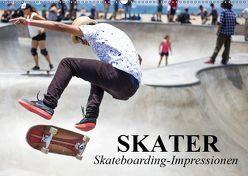 Skater. Skateboarding-Impressionen (Wandkalender 2019 DIN A2 quer) von Stanzer,  Elisabeth