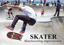 Skater. Skateboarding-Impressionen (Wandkalender 2019 DIN A3 quer) von Stanzer,  Elisabeth