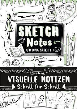 Sketchnotes Übungsheft von Graus,  Sonja