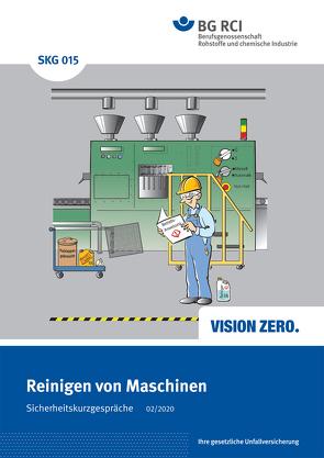 SKG 015 Sicherheitskurzgespräche Reinigen von Maschinen
