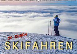 Skifahren – so schön (Wandkalender 2019 DIN A2 quer) von Roder,  Peter