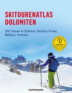 Skitourenatlas Dolomiten
