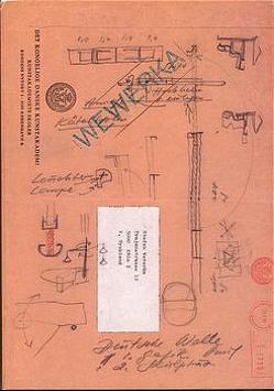 Skizzen im Zug von Schneckenburger,  Manfred, Wewerka,  Stefan