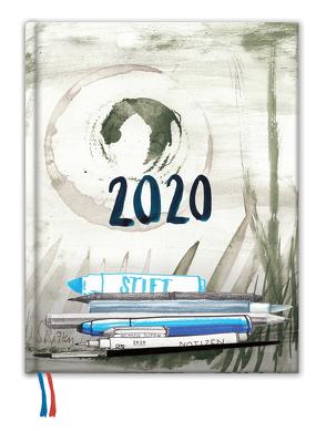 Skizzenkalender 2020 von Köhn,  Annette