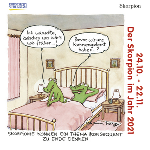 Skorpion Mini 2021 von Korsch Verlag, Mayr,  Johann