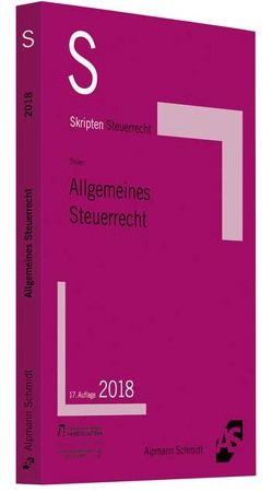 Skript Allgemeines Steuerrecht von Drüen,  Klaus-Dieter
