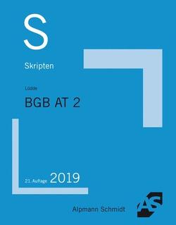 Skript BGB AT 2 von Lüdde,  Jan Stefan
