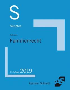 Skript Familienrecht von Roßmann,  Franz Thomas