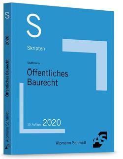 Skript Öffentliches Baurecht von Stuttmann,  Martin