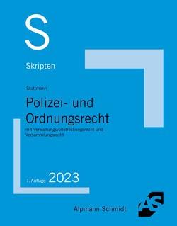 Skript Polizei- und Ordnungsrecht von Sommer,  Christian, Wüstenbecker,  Horst