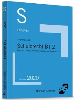 Skript Schuldrecht BT 2 von Langkamp,  Tobias, Lüdde,  Jan Stefan