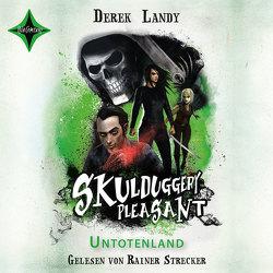 Skulduggery Pleasant 13 – Untotenland von Fritz,  Franca, Koop,  Heinrich, Landy,  Derek, Strecker,  Rainer