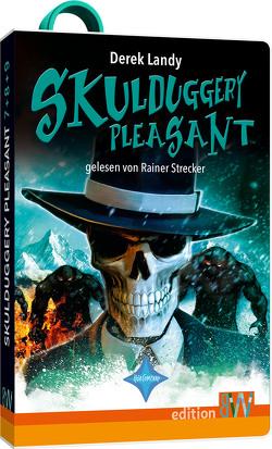 Skulduggery Pleasant – Folge 7, 8 und 9 von Landy,  Derek, Strecker,  Rainer