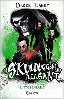 Skulduggery Pleasant – Untotenland von Fritz,  Franca, Koop,  Heinrich, Landy,  Derek