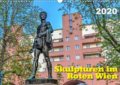 Skulpturen im Roten Wien (Wandkalender 2020 DIN A3 quer) von Braun,  Werner