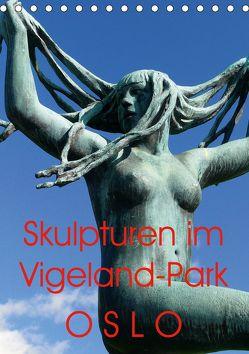 Skulpturen im Vigeland-Park Oslo (Tischkalender 2020 DIN A5 hoch) von M. Laube,  Lucy