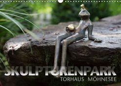 SKULPTURENPARK TORHAUS (Wandkalender 2019 DIN A3 quer) von Maertens,  Bernd