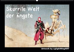 Skurrile Welt der Ängste (Wandkalender 2020 DIN A2 quer) von Winkler - cglightNingART,  Stefanie
