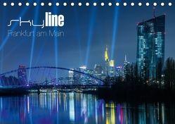 Skyline Frankfurt am Main (Tischkalender 2018 DIN A5 quer) von Wissler,  Ronald